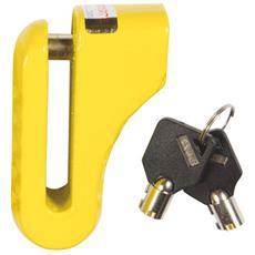 Lucchetto bloccadischi per moto di mezza e grossa cilindrata diametro 10 mm