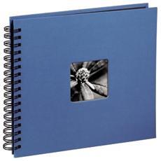 Fine Art spirale azur 28x24 50 pagine nere 113683
