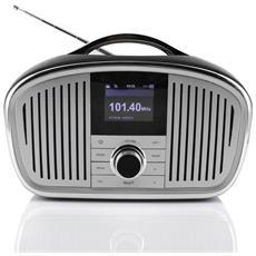 """IR4000SW, Internet, DAB+, FM, 6W, LCD, 6,1 cm (2.4"""") , Ioni di Litio"""