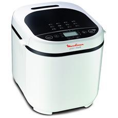 MOULINEX - OW2101 Macchina per Pane Potenza 650 Watt Colore Bianco