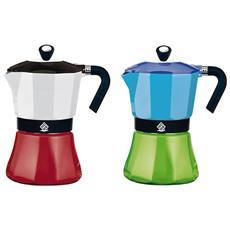 Caffettiera Alluminio Coffee Tazze 3 Caffettiere E Guarnizioni