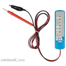 Prova Test Tester Per Batteria Batterie E Carica Dell'alternatore Fervi 0446