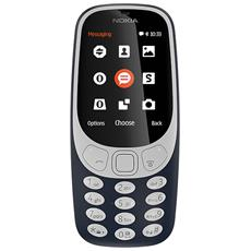 "3310 Blu Dual Sim Display 2.4"" +Slot MicroSD con Bluetooth RadioFM e Fotocamera 2Mpx - Italia"
