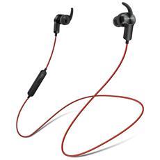 Auricolare Sportivo AM60 con Bluetooth Colore Nero / Rosso
