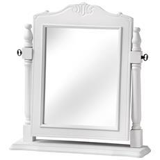 Florence Specchio Da Tavolo (taglia Unica) (bianco)