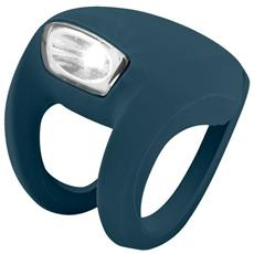 Luce Anteriore a LED Bianco per Bici Colore Blu