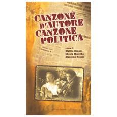 Canzone d'autore canzone politica