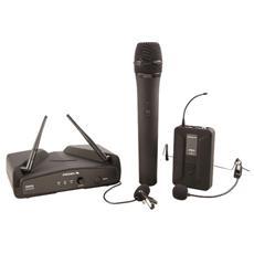 WM202KIT UHF Channel Wireless Microphone System