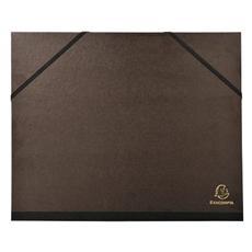 pz. 1 Cartelle porta disegni Kraft nero 50x65 cm 548800E