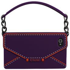 Clichè cover for iPhone 4/4S - Envelop Purple