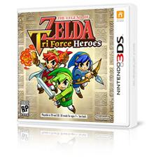 N3DS - The Legend of Zelda: Tri Force Heroes