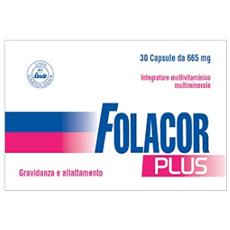 Folacor Plus 30 Cps 665mg