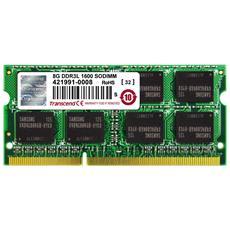 Memoria SoDimm 8 GB (1 x 8GB) DDR3L 1600 MHz CL11