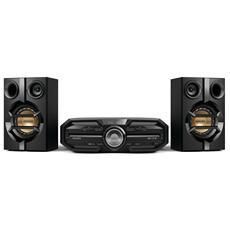 Sistema Mini Hi-Fi FX15/12 Lettore CD Supporto MP3 Potenza Totale 180 Watt Bluetooth NFC
