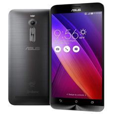 "ZenFone2 5.5 Argento 32 GB 4G/LTE Dual Sim Display 5.5"" Full HD Slot Micro SD Fotocamera 13 Mpx Android Italia"