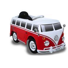 Auto Elettrica Mini Van Volkswagen con Luci, Suoni e Radiocomando 12 Volt 1036 / RW