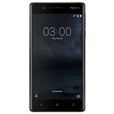 "3 Nero 16 GB 4G / LTE Dual Sim Display 5"" HD Slot Micro SD Fotocamera 8 Mpx Android Italia"