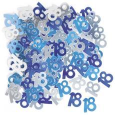 Blu Coriandoli Decorativi Per Festa Di Compleanno 18 Anni (taglia Unica) (blu)