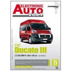 Fiat Ducato III. 2.3 JTD Euro V (130 E 150 CV) . Dal 04/2011. Ediz. multilingue