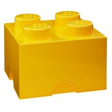Scatola Piccola Mattoncino Giallo LEGO