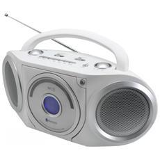 RCD5000WS, FM, Lettore, CD, CD-R, CD-RW, Ripeti, CA / Batteria, 230V