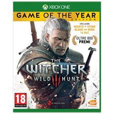 XONE - The Witcher 3 Wild Hunt GOTY Edition