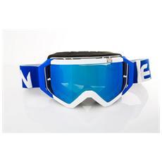 Maschera Top Blu / bianco Dirt