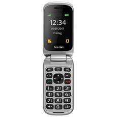 """SL590 Senior Phone Display 2.4"""" +Slot Micro SD con Tasti Grandi + Tasto SOS Fotocamera 3Mpx Colore Rosso - Europa"""