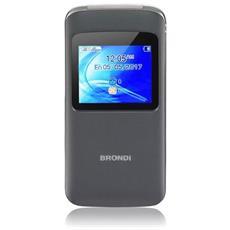 Brondi Window Cellulare Gsm Dual Sim (grigio)