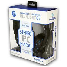 Bluelight G2 Stereofonico Padiglione auricolare Nero, Blu cuffia e auricolare
