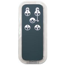 PH-PSR03. EU, Pulsanti, Nero, Trasparente, Security system, Micro-USB, -10 - 40 C, Resistente all'acqua