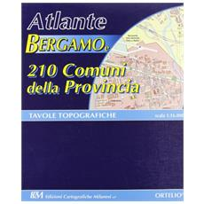 Atlante Bergamo e 210 comuni della provincia