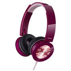 PANASONIC - Cuffia RP-HXS400E Ad Archetto colore Rosa d0878fe056c9