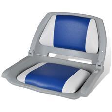 Sedile Per Barca Con Schienale Pieghevole E Cuscino 41 X 51 48 Cm