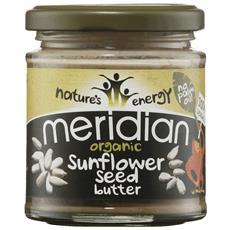 Meridian Organic Sunflower Seed Butter 100% 170 G - Vellutato