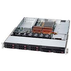 SuperChassis 113TQ-700UB, Black, Basso profilo (Slimline - stilizzato) , Server, 1U, 10 - 35 °C, -40 - 70 °C, 8 - 90%
