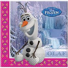 Tovaglioli Di Carta Di Olaf Frozen - Il Regno Di Ghiaccio Taglia Unica