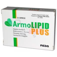 Armolipid Plus 20 Cpr - Integratore Alimentare Per Controllare I Livelli Di Colesterolo E Trigliceridi - Prodotto Originale Italiano