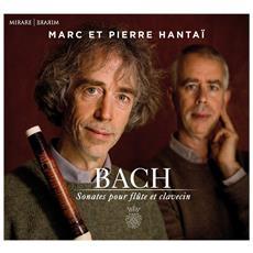 J. S. Bach - Sonates Pour Flute Et Clavecin - Hantai, Marc And Pierre
