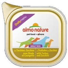 Almo Daily Menu Cane Adulto, Con Tacchino E Zucchini Gr. 100