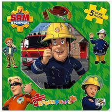 Sam Il Pompiere - Libro Puzzle