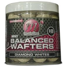 Boilies High Impact Balanced Wafters Diamond Whites 22 Mm Unica Bianco
