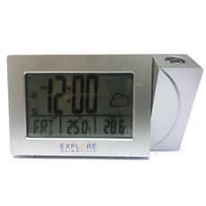 Explorescientific Rpw3008 Meteo Proiezione Ora Temperatura Sveglia Infrasettimanale Silver