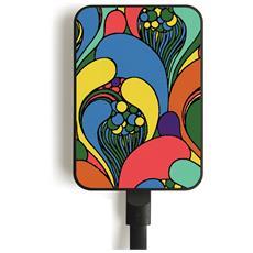 MC10 FLOWERS Polimeri di litio (LiPo) 10000mAh Multicolore batteria portatile