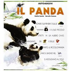 Il panda. Con sticker