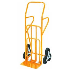 Carrello portacasse acciaio ruote in gomma max 200 Kg cm 55X57X H. 120