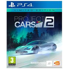 PS4 - Project CARS 2 Limited Steelbook Edition