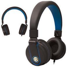 Cuffie Cablato TM-IP952-INTER Colore Nero e Blu