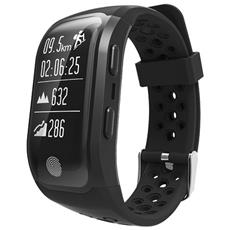 Smart Band Activity Tracker Fitness Con Gps Waterproof Ip68 Cardio (nuoto, Ciclismo, running) Orologio Smartwatch
