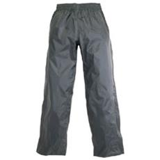 Panta Diluvio Light Antipioggia Nero Pantalone Impermeabile Taglia Xxs